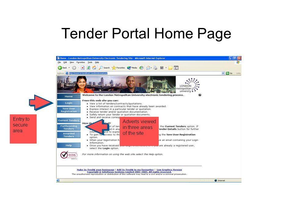 What is tender website