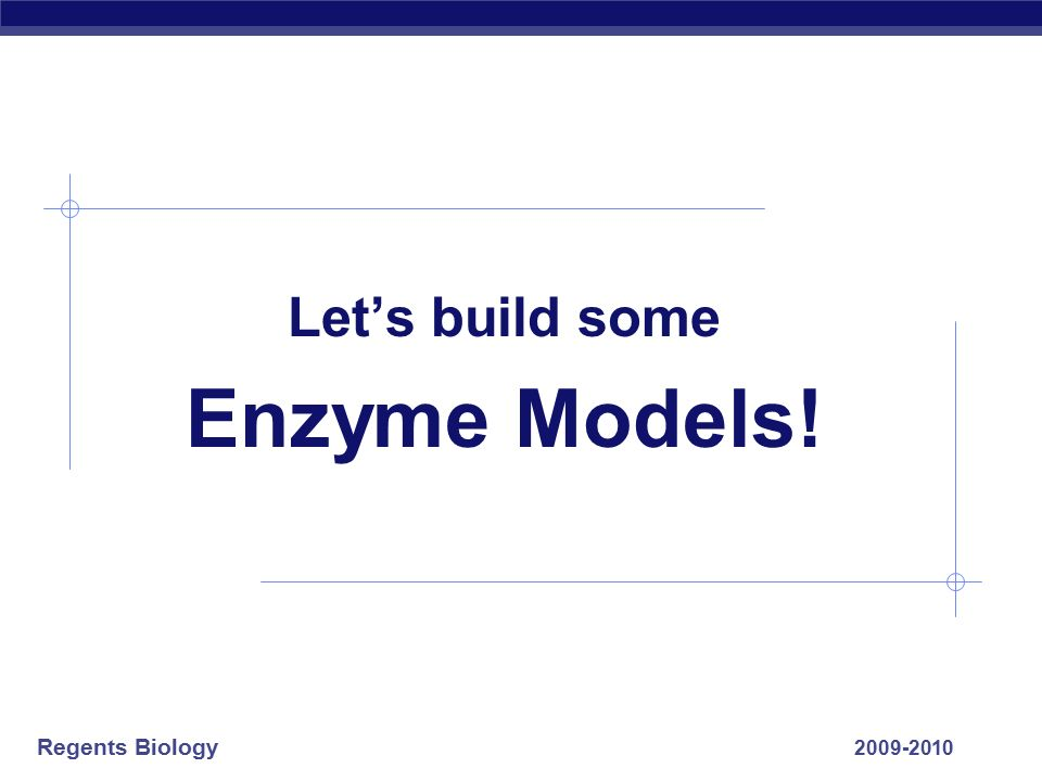 Regents Biology For enzymes… What matters SHAPE!