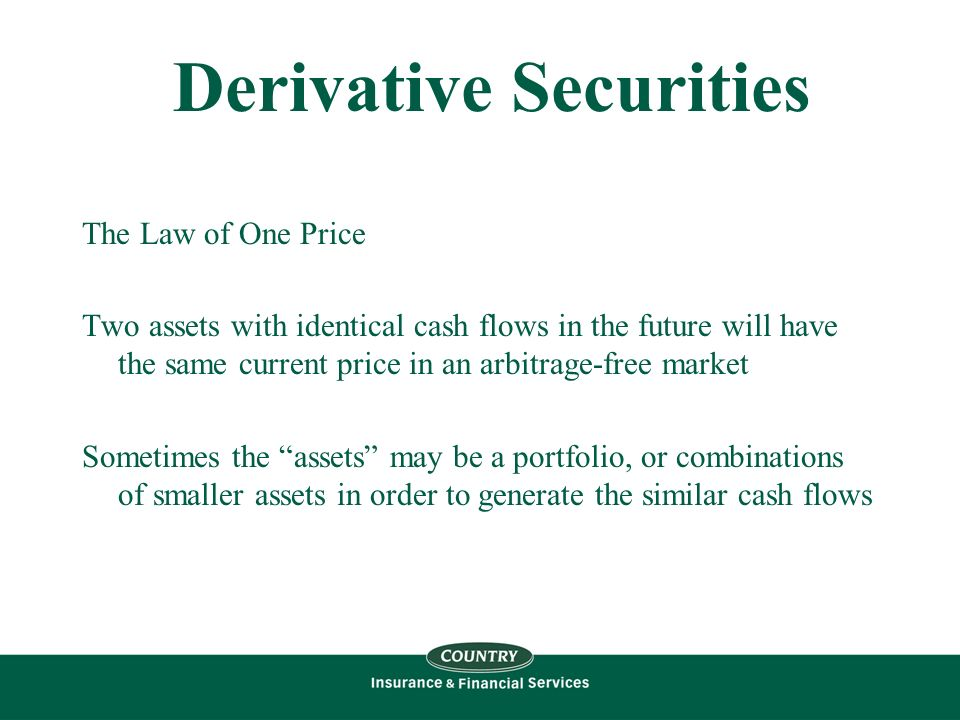 derivative security Derivative trading on securities spread from amsterdam to england and france at the turn of the seventeenth to the eighteenth century, and from france to germany in the early nineteenth century circumstantial evidence indicates that bankers and banks were at the forefront of derivative trading during the eighteenth and nineteenth centuries.