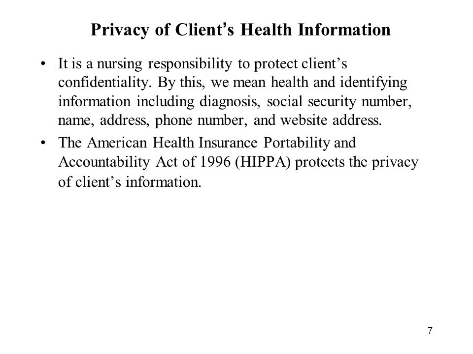 what does confidentiality mean in nursing