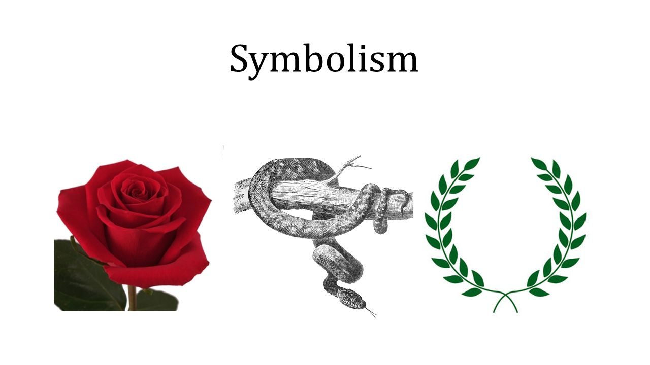 Symbolism Symbolism In Literature Literary Device Applied To