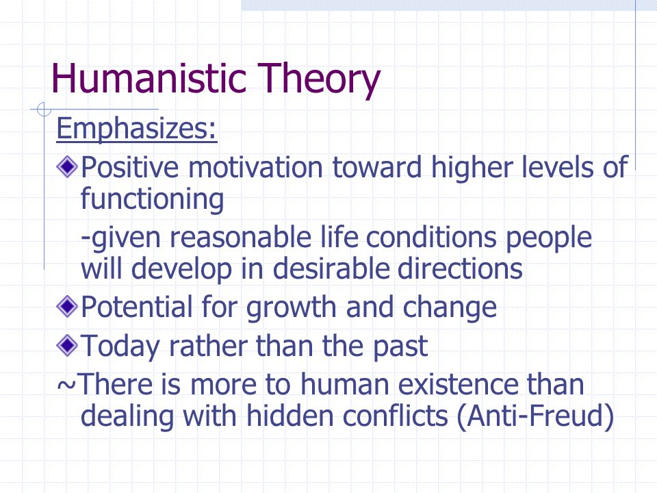Humanistic personality theory people are a genetic blueprint to 2 humanistic malvernweather Gallery