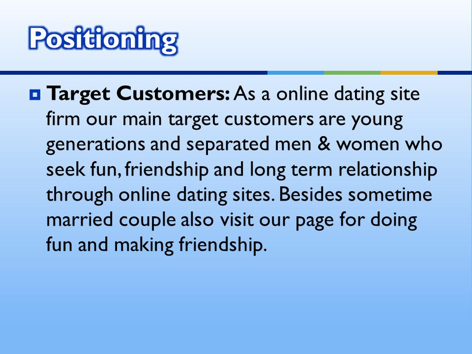 Online dating separated married