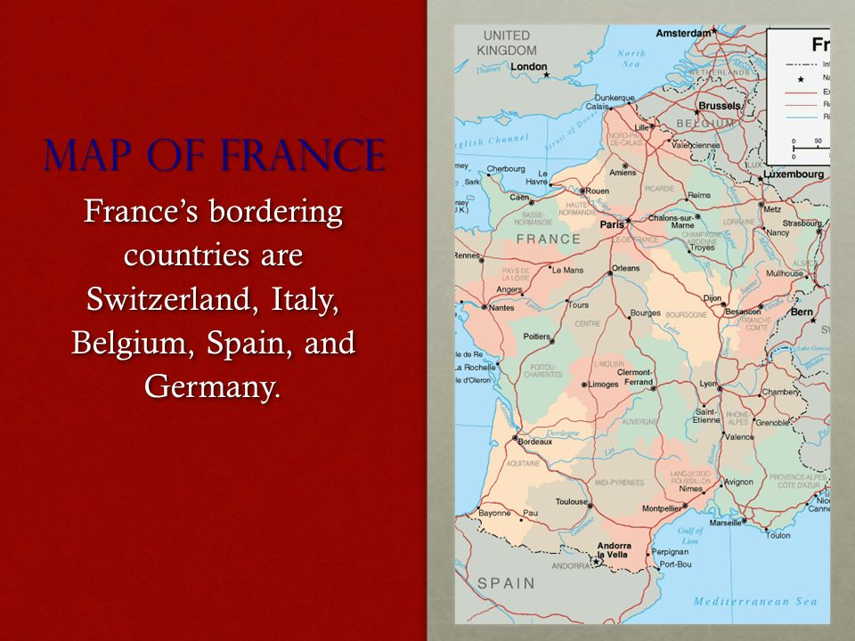 Map Of France And Bordering Countries.Christmas In France By Lily Cassida Map Of France France S
