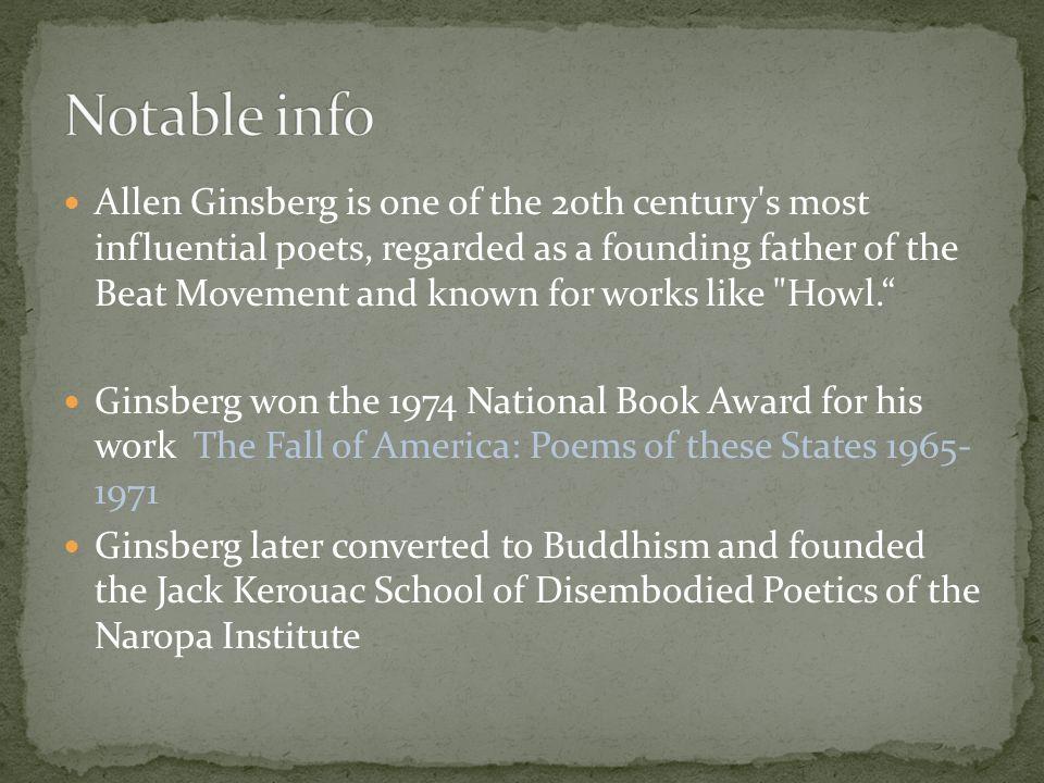 america poem allen ginsberg