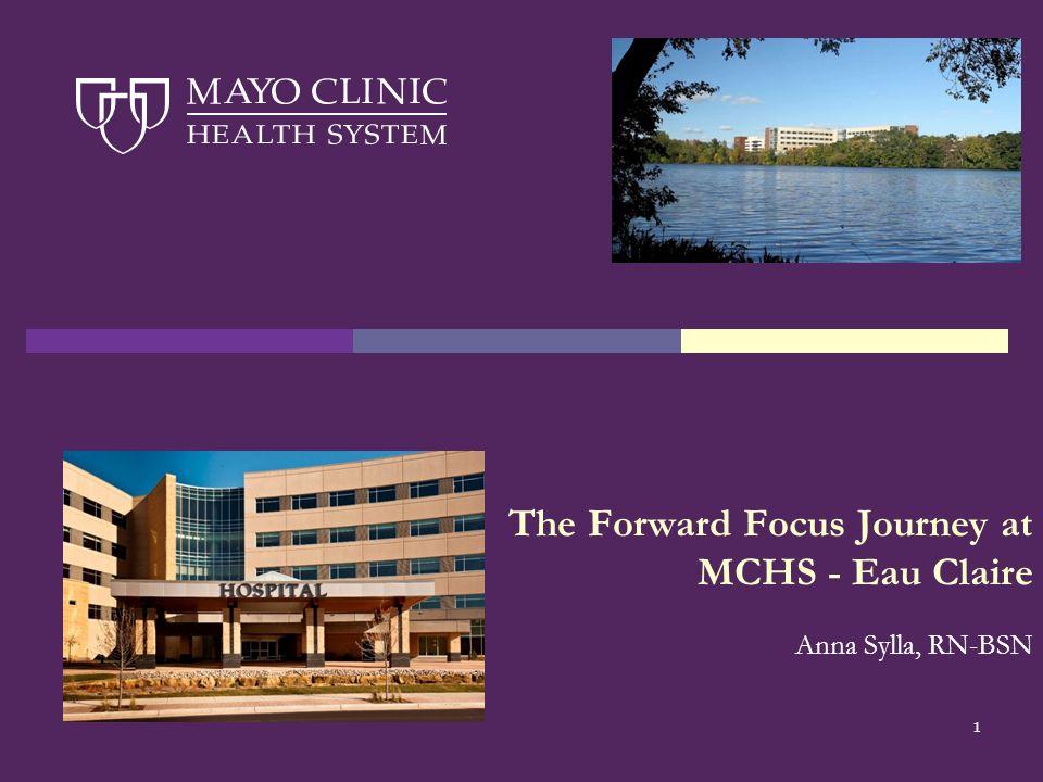 1 The Forward Focus Journey at MCHS - Eau Claire Anna Sylla