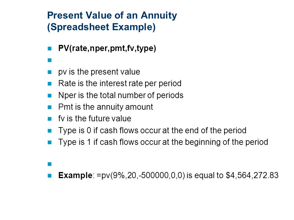The Time Value Of Money Chapter 9 Purpose Provide Students With