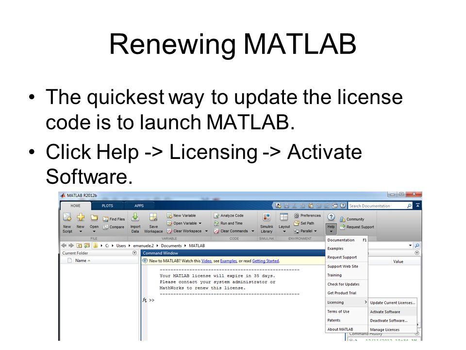 matlab activation key ohio state