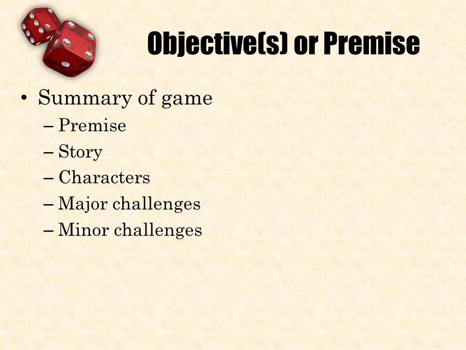 Creating A Game Steps Idea Objectives Purpose Gameplay Gameflow - Game flow summary