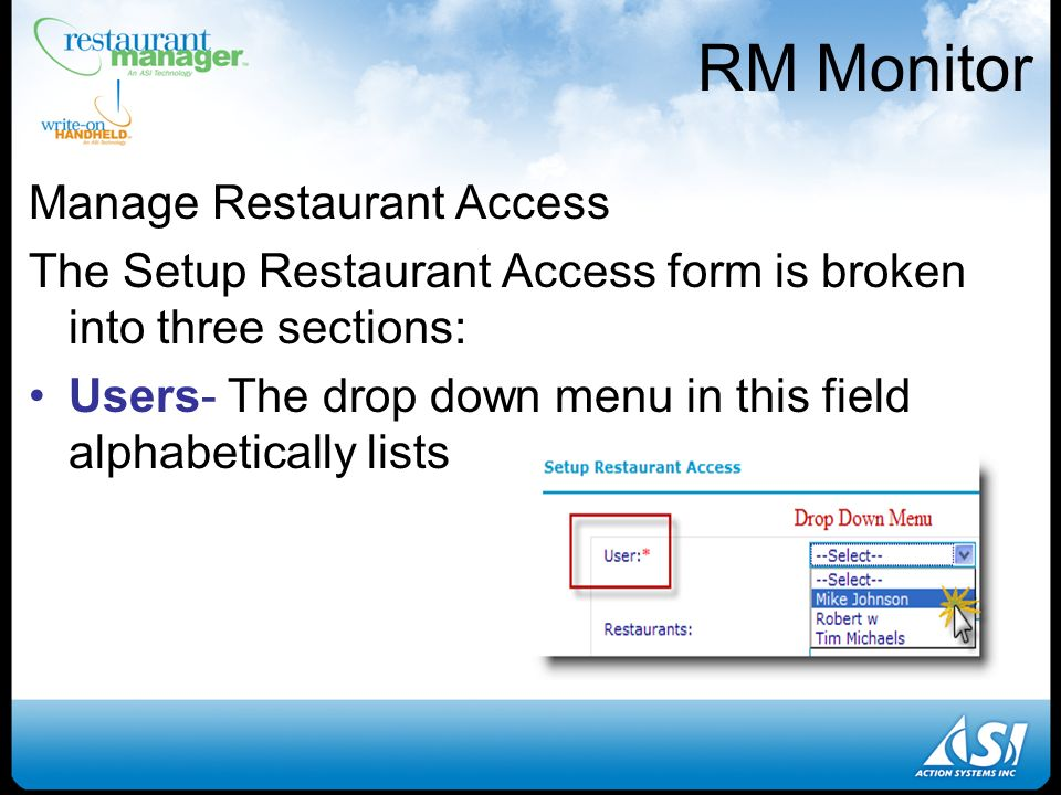 rm monitor and rmalerts installation setup and requirements