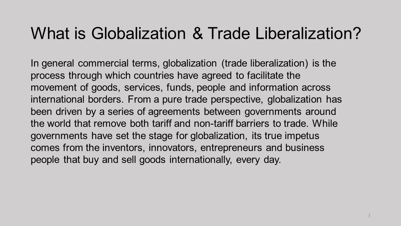 liberalization of world tradelatin america essay Latin america as a region has multiple nation-states, with varying levels of economic complexity the latin american economy is an export-based economy consisting of.