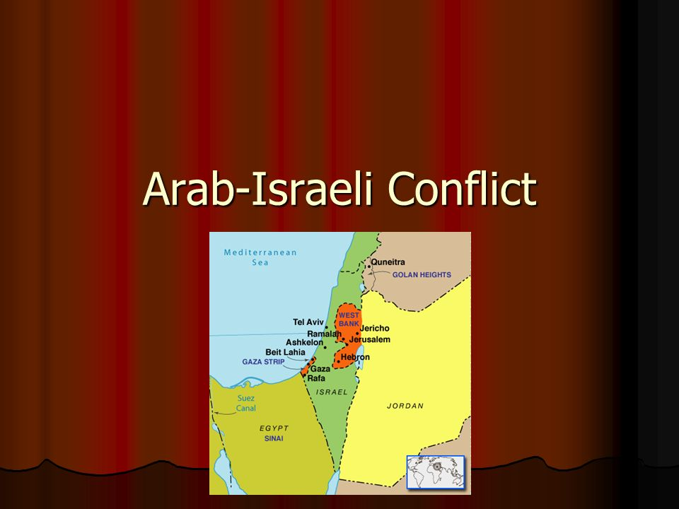 arab israeli conflict research paper The arab-israeli conflict assignment:explain and analyze the way each side to the palestine dispute regarded the main developments and events from november 1917 (britain's entry into jerusalem and issuance of the balfour declaration) to may 1948 (british departure from palestine.