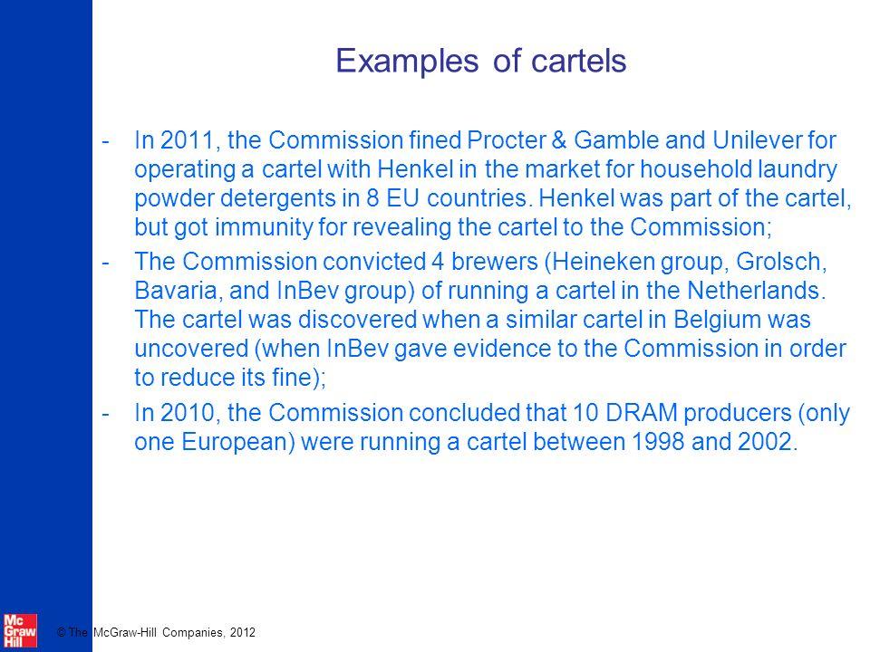 Cartel unilever procter gamble long slotted holes