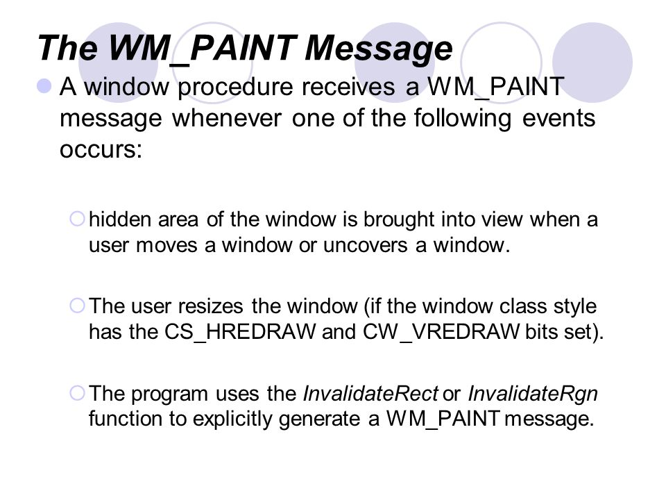 Presentation Outline Introduction Painting and Repainting