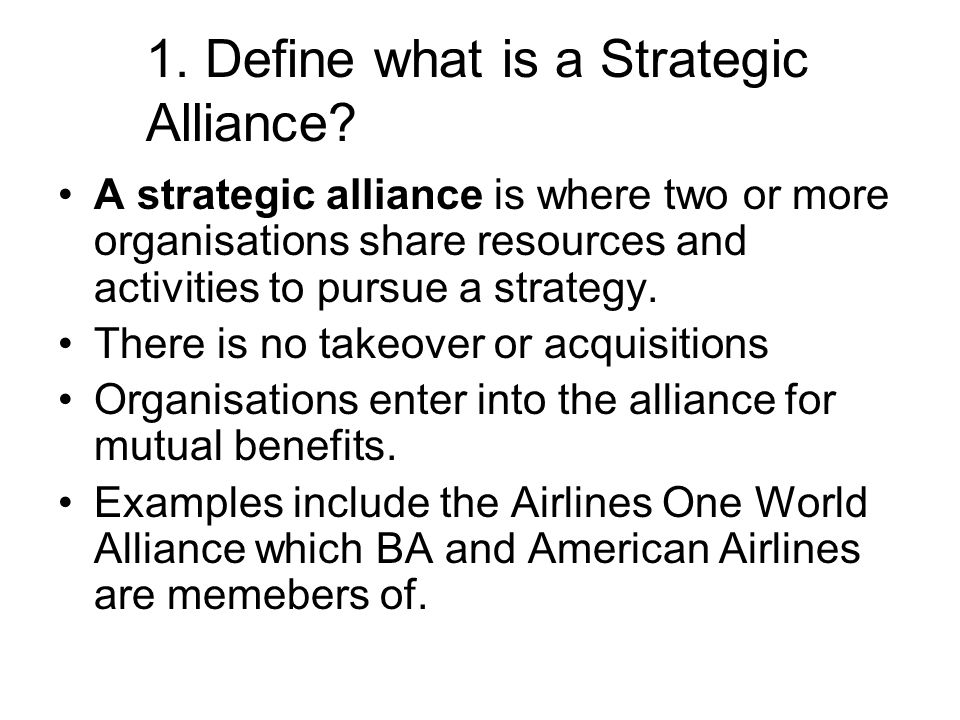 strategic alliances and international mergers and The strategic alliance has long been a niche strategy in the traditional business world - often talked about and rarely used in the online business world, the strategic alliance is very popular.