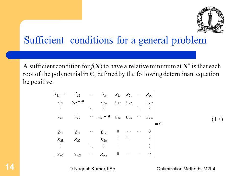 D Nagesh Kumar Iiscoptimization Methods M2l4 1 Optimization Using