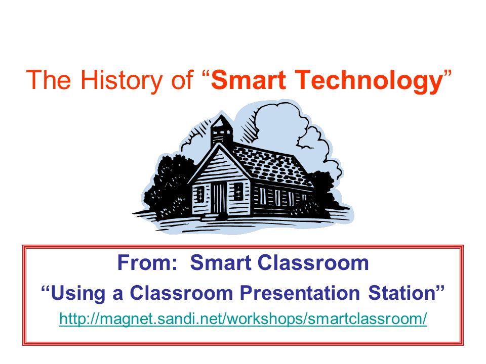 Smart Technology Educational Technology Department Instructional
