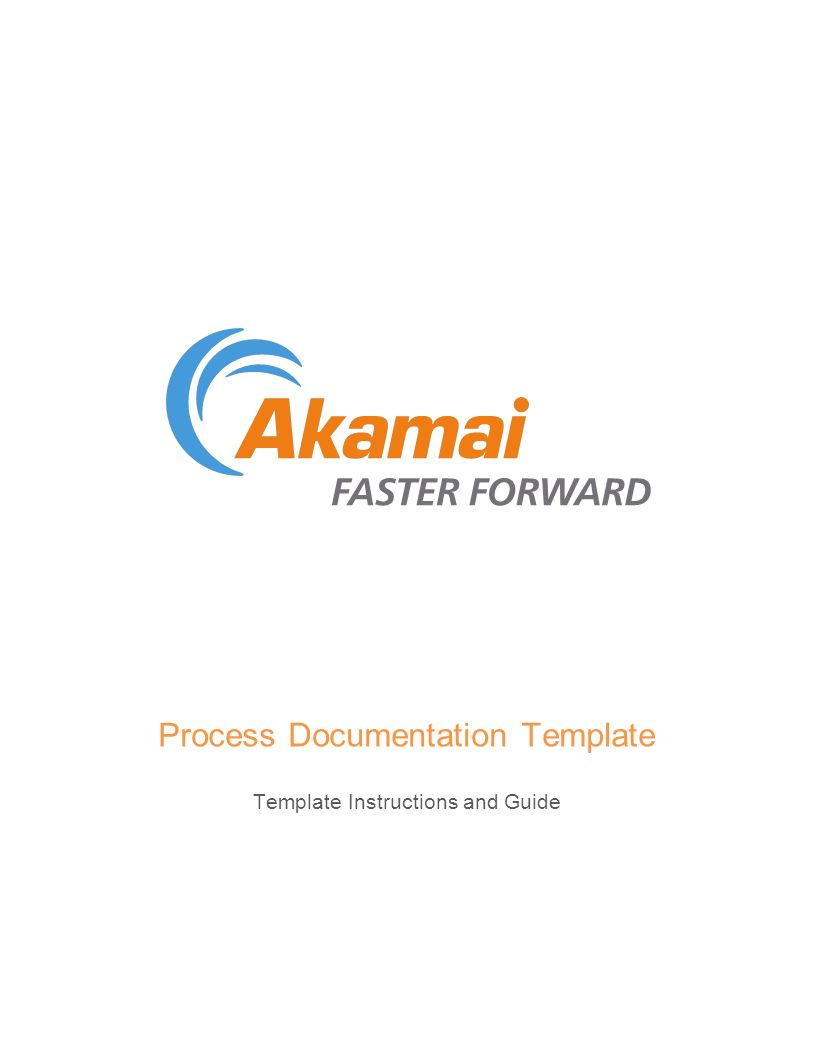 Process Documentation Template Template Instructions and Guide ...