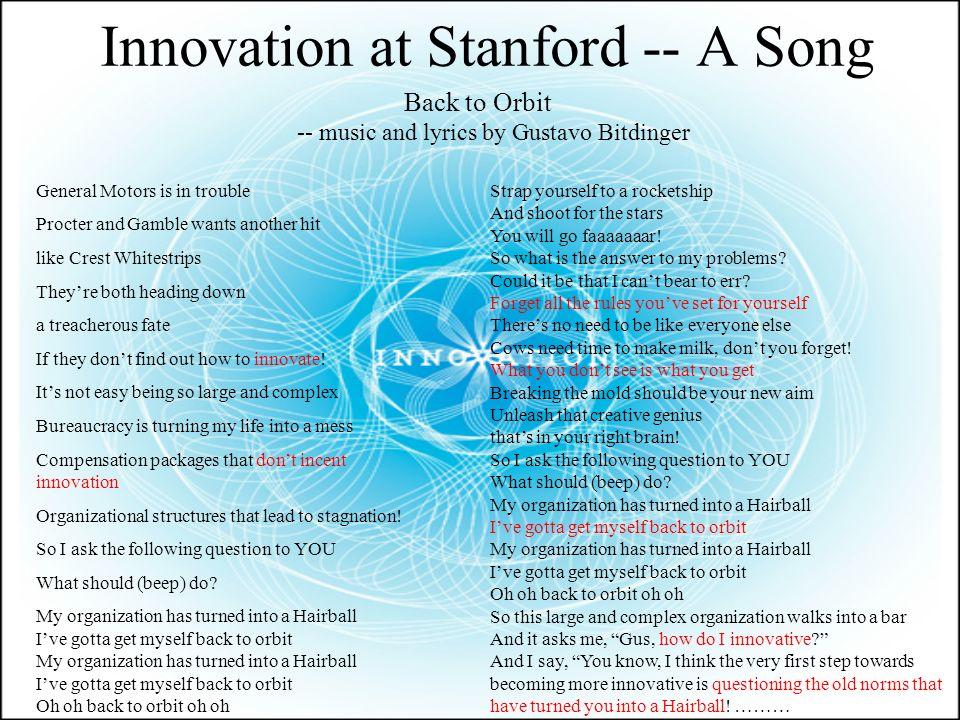Innovation -- Pax Romana. Definition of Innovation Innovation. n 1 ...