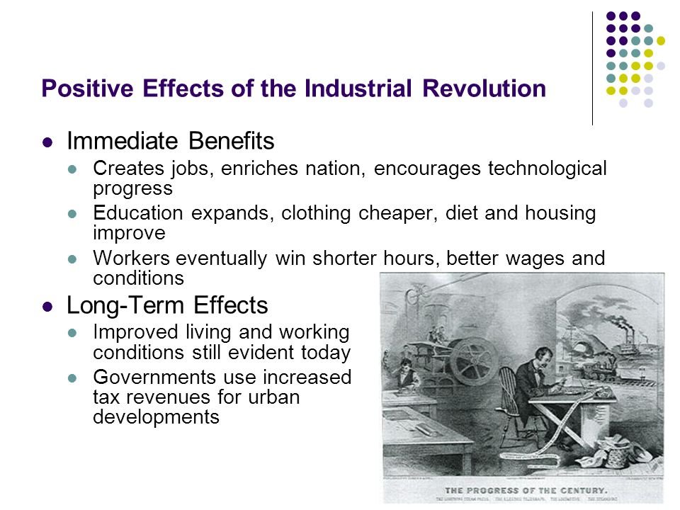 a brief look at the industrial revolution The industrial revolution began in england in the middle of the 18th century and spread to the rest of europe and the united states in the early 19 th coal was needed to make steam engines run and to produce iron at the beginning of the 18 th century iron makers found a way to extract pure iron out of.