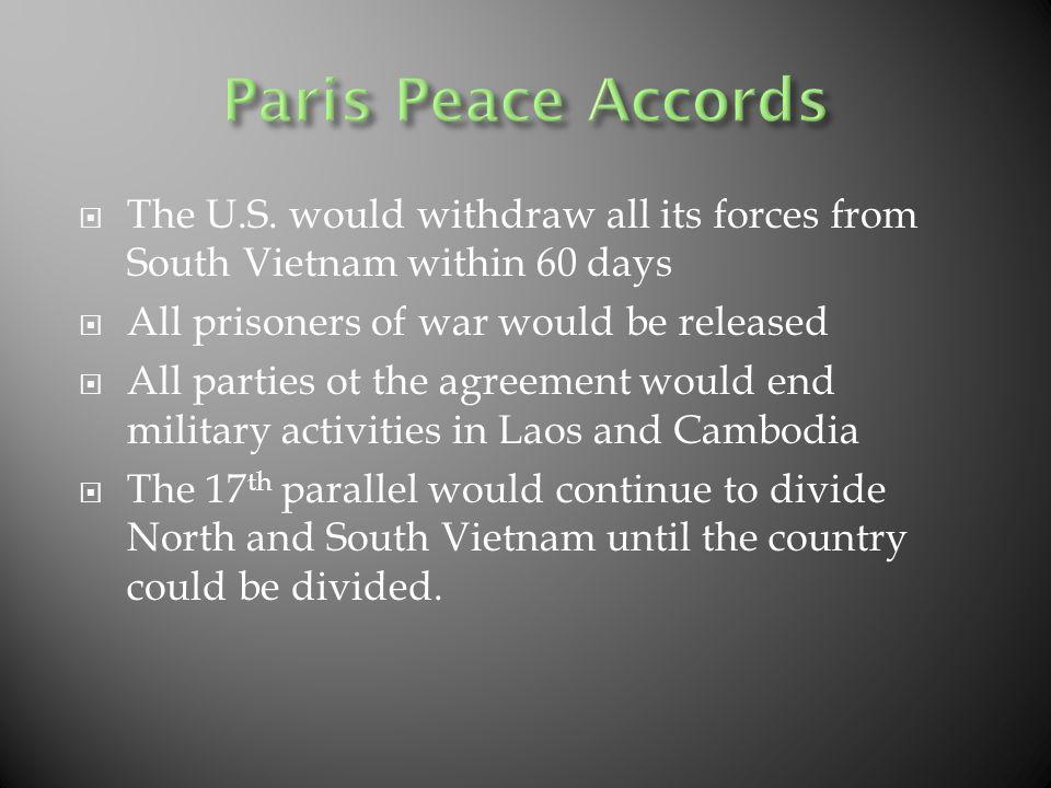 Cambodia Laos The Paris Peace Accords And The Fall Of Saigon