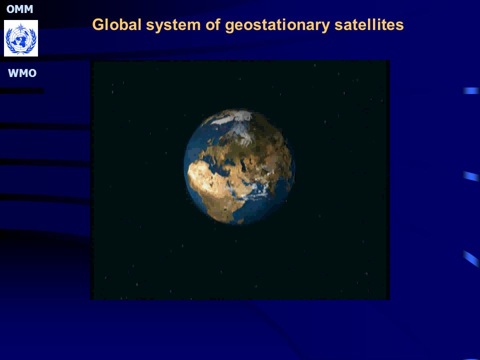 OMM WMO Global system of geostationary satellites