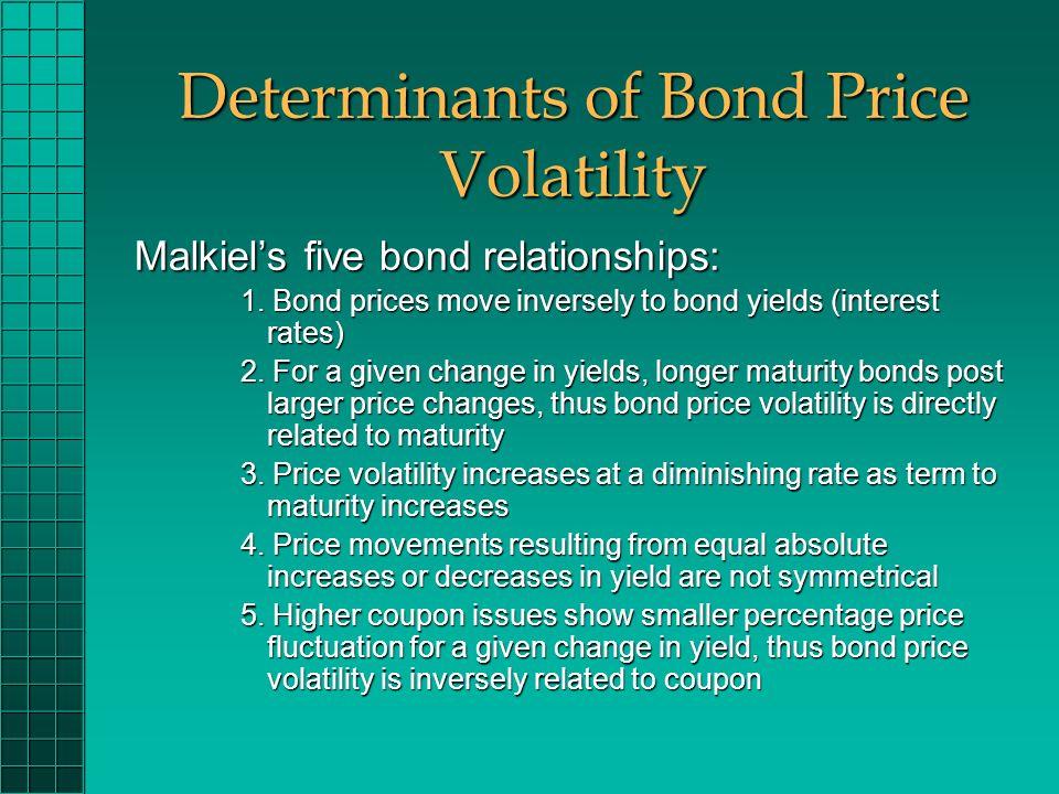 Malkiels bond pricing relationships dating