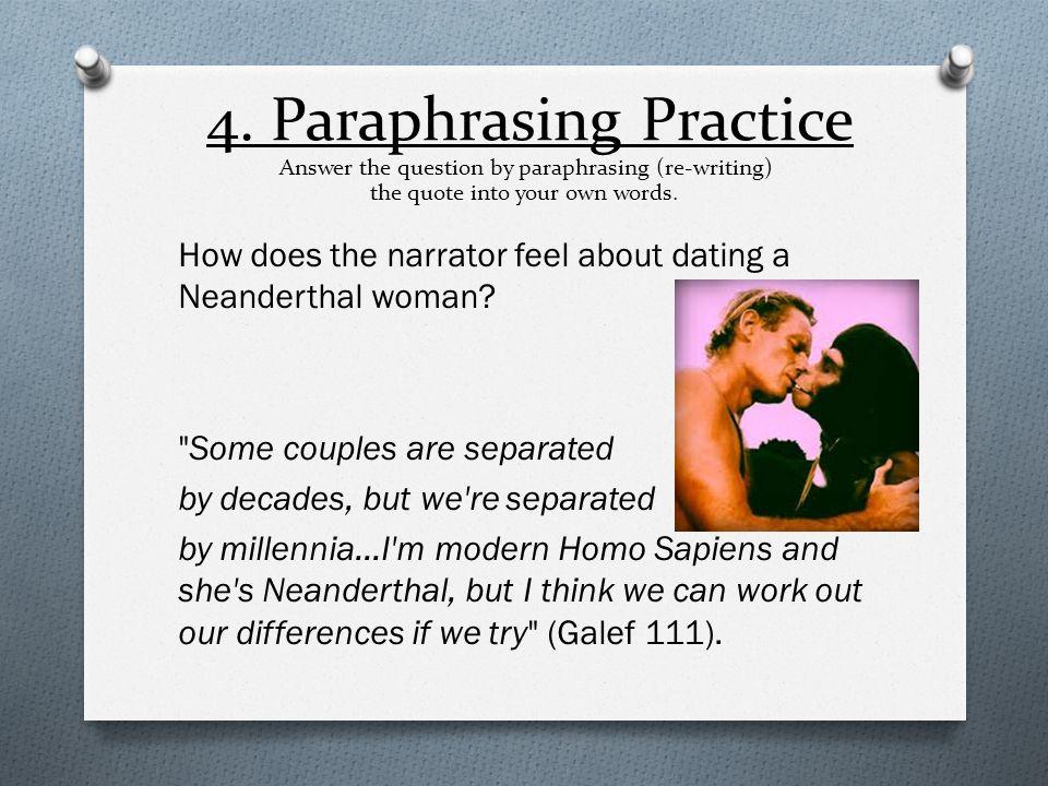 Paraphrasing & Quote- Weaving Practice