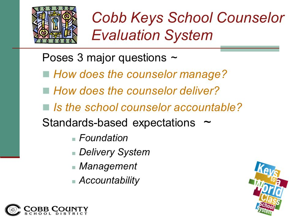 School Counselors Evaluation System Orientation Sy10 11 Guidance