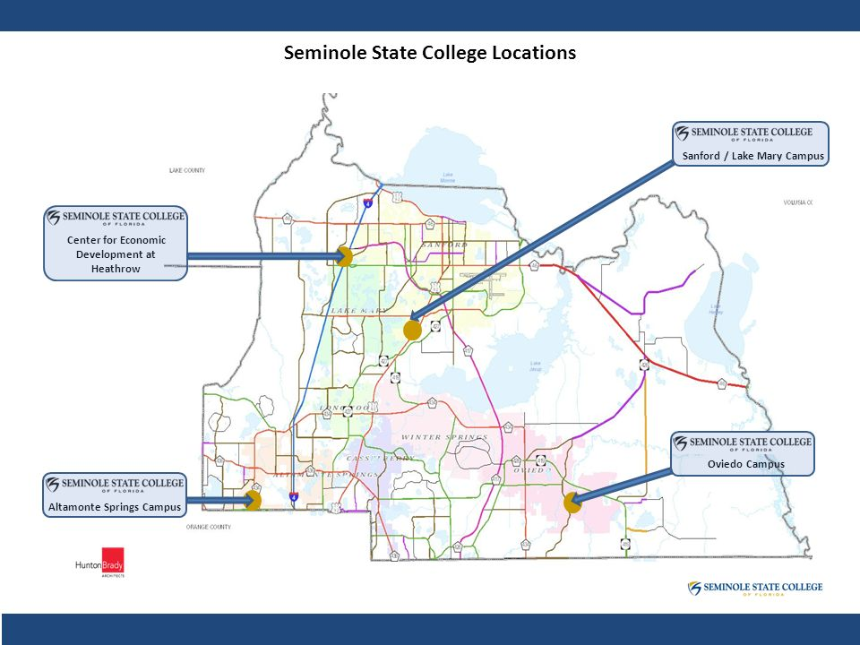 Seminole State Oviedo Campus Map.Public Private Partnership Opportunities David Hobbs Director Of
