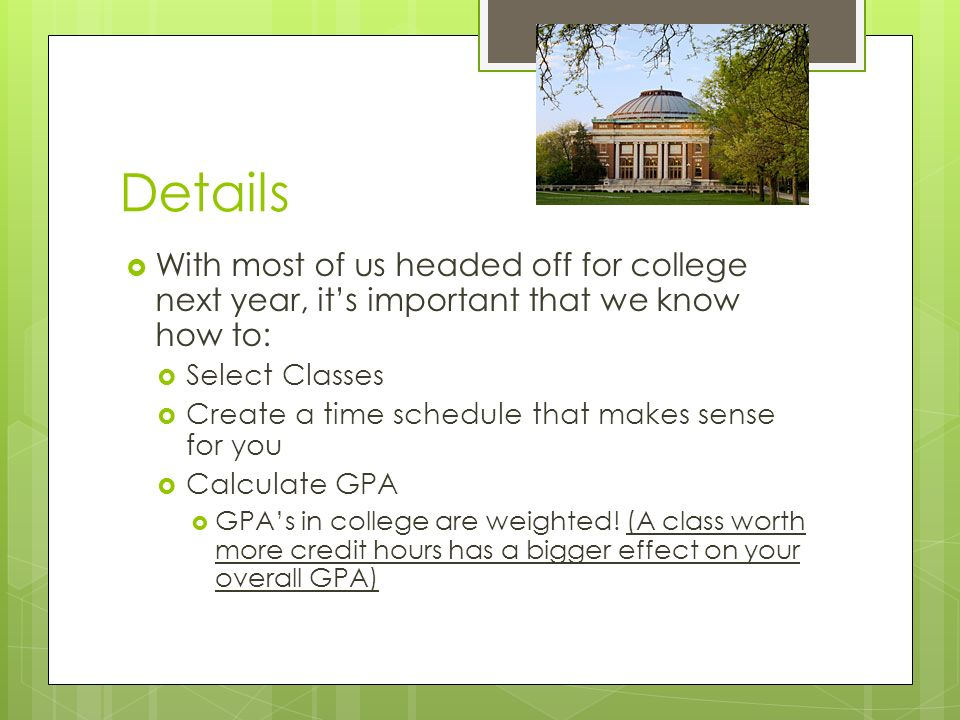 college schedule mini project college prep stats ppt download