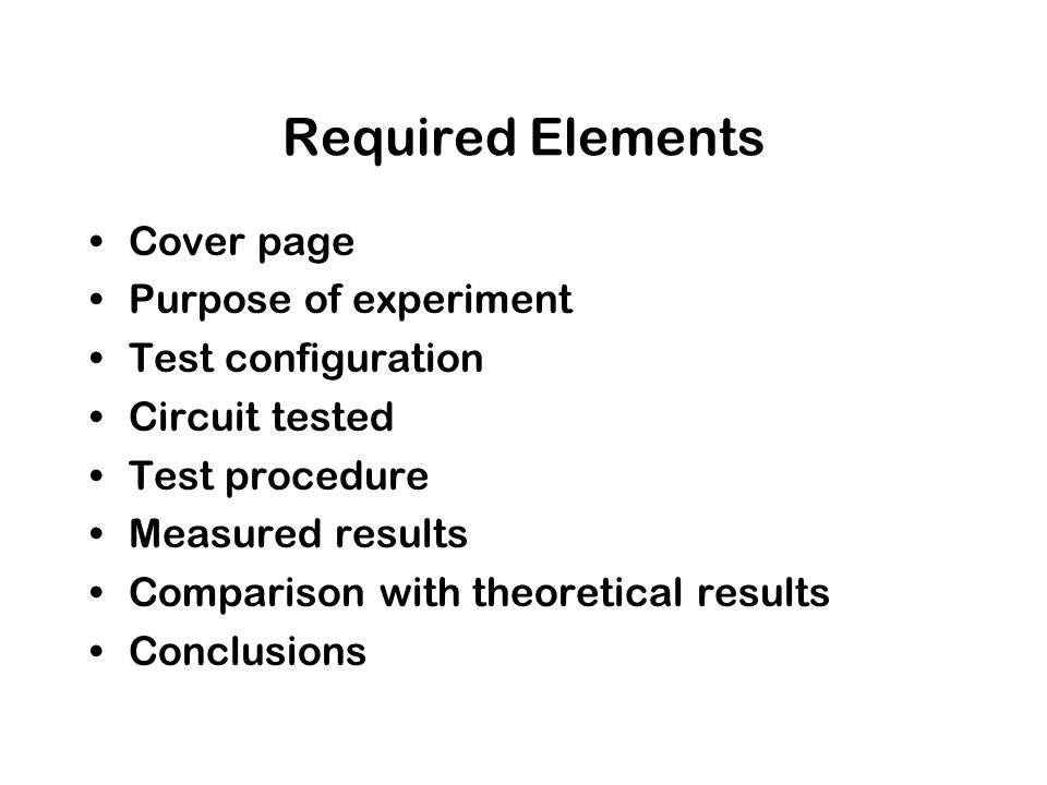 circuit lab report essay Online essay writing service question dc circuit lab report this is a lab experiment in electrical engineering ( circuits ) about dc circuit i am going to upload the lab manual and the data that i got from doing the lab.