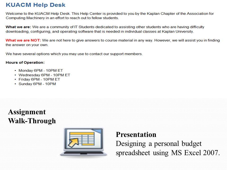 Microsoft Excel Agenda Announcements Excel Review Unit 7