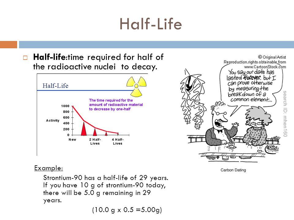 half life and radiometric dating
