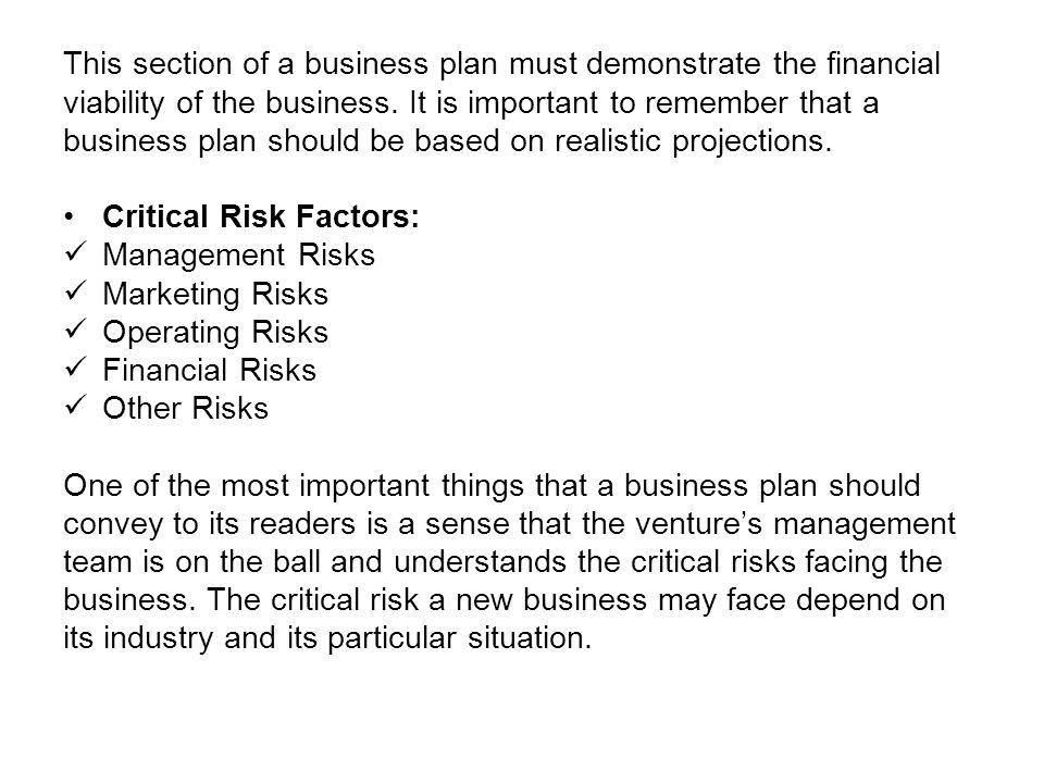 risk management plan example for restaurant