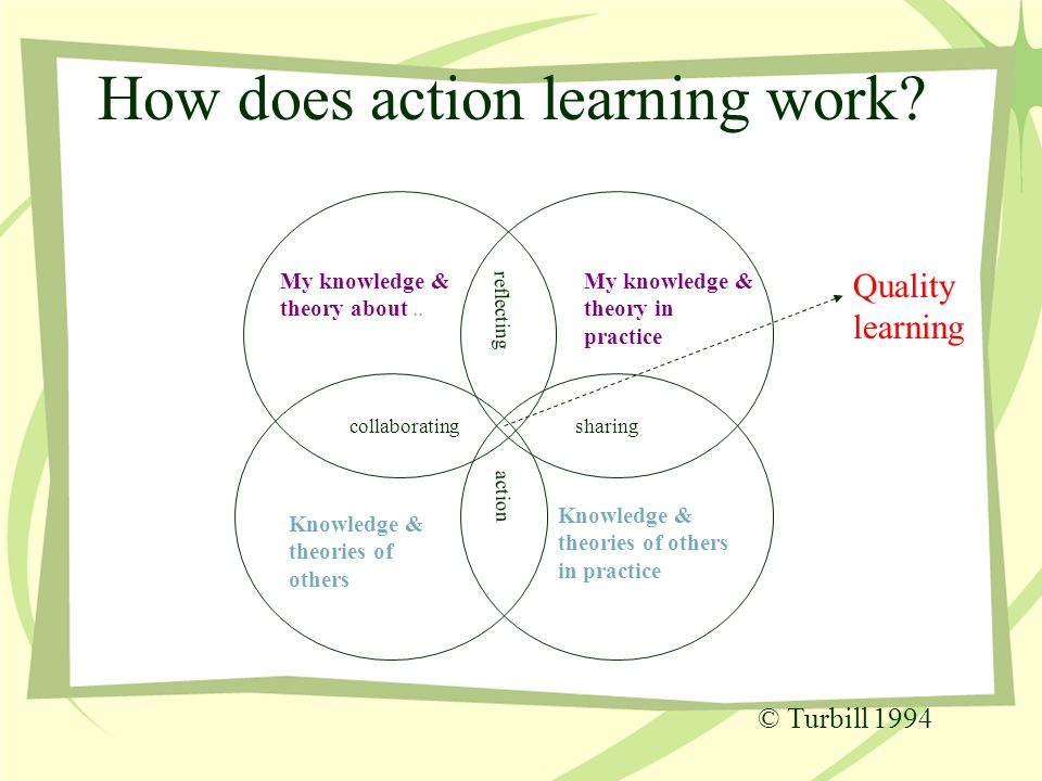 action learning steps