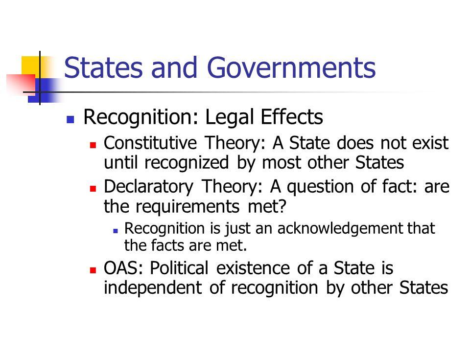 declaratory theory of law