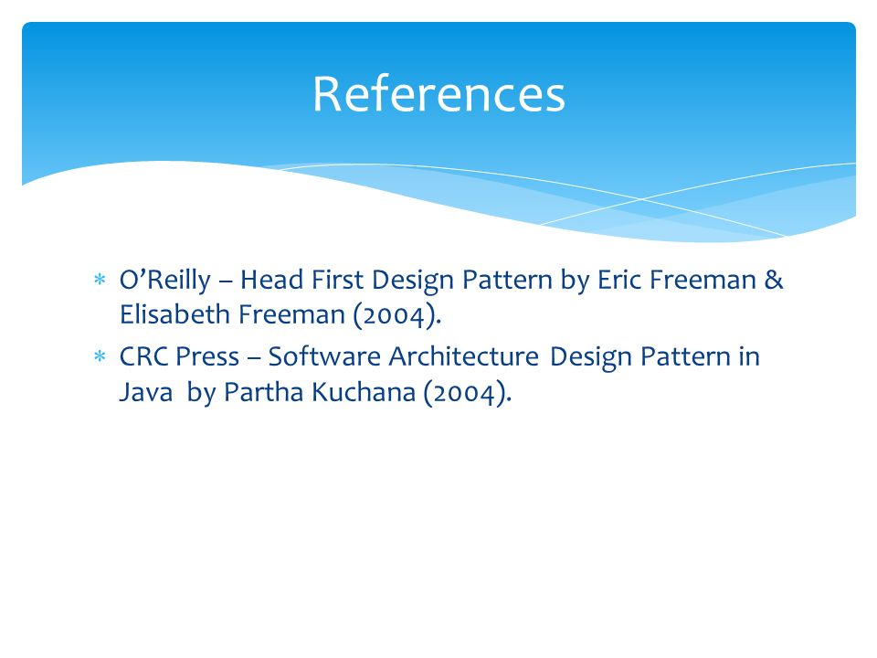 Design Patterns Singleton Factory Pattern Eriq Muhammad Adams J Mail Blog Ppt Download