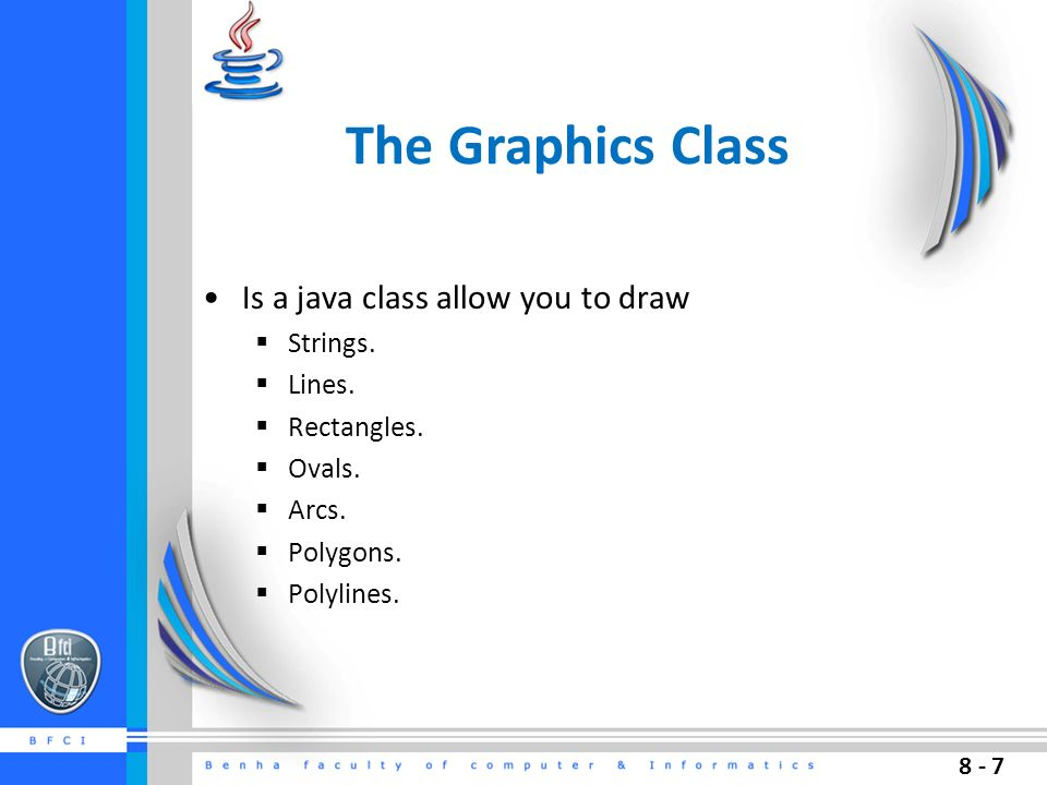 Agenda Java Coordinate Systems Graphics Class Drawing On Panels