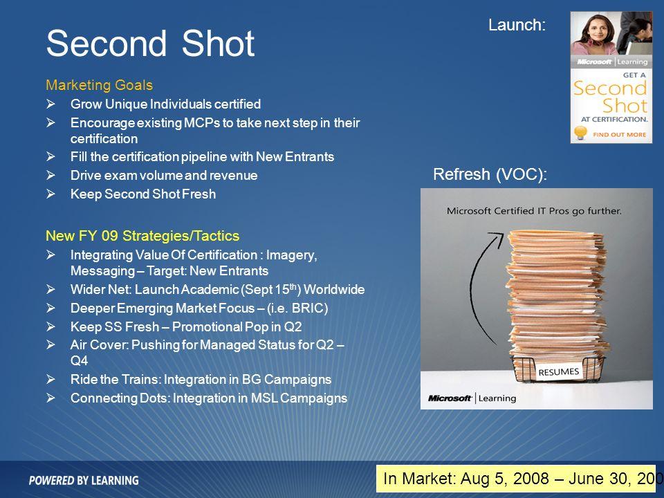 Microsoft Certification Second Shot Choice Image Creative