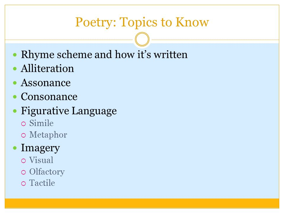 world literature topics