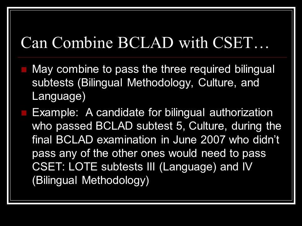 Program Standards for Bilingual Authorization Jo A  Birdsell