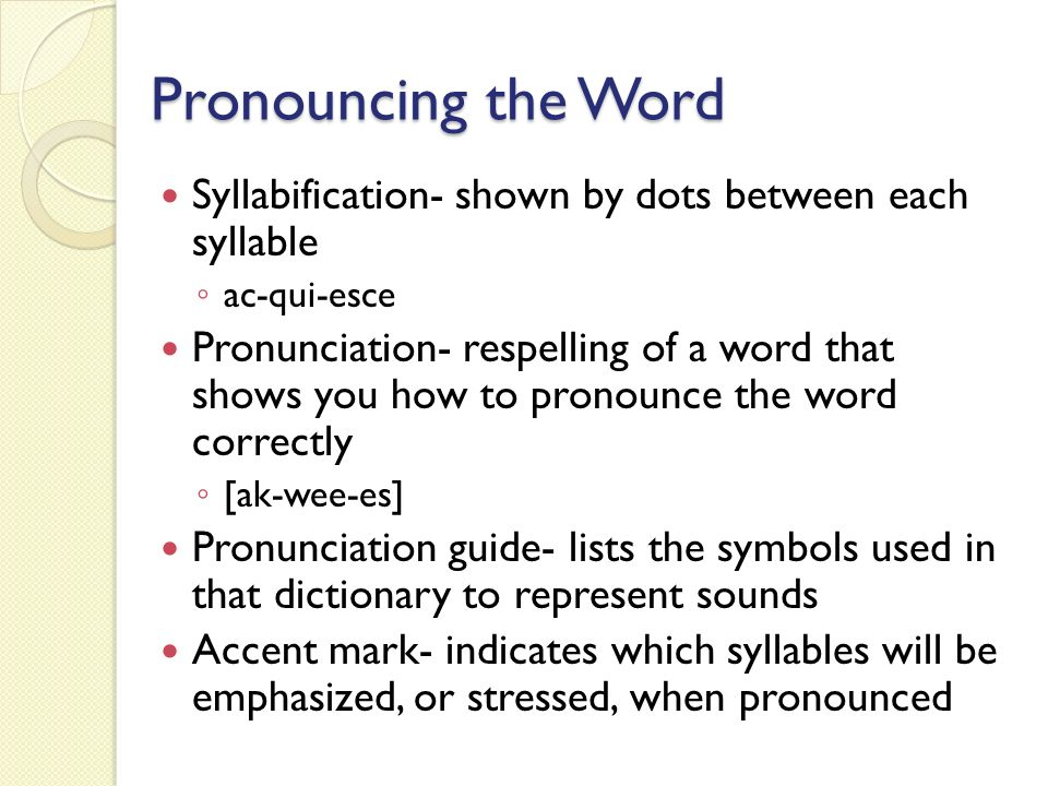 Spelling Grammar Chapter 16 Spell By Syllables Overpronouncing Each