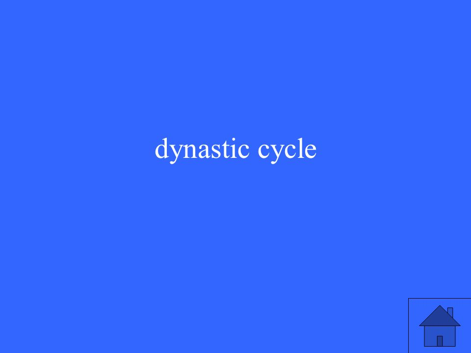 dynastic cycle