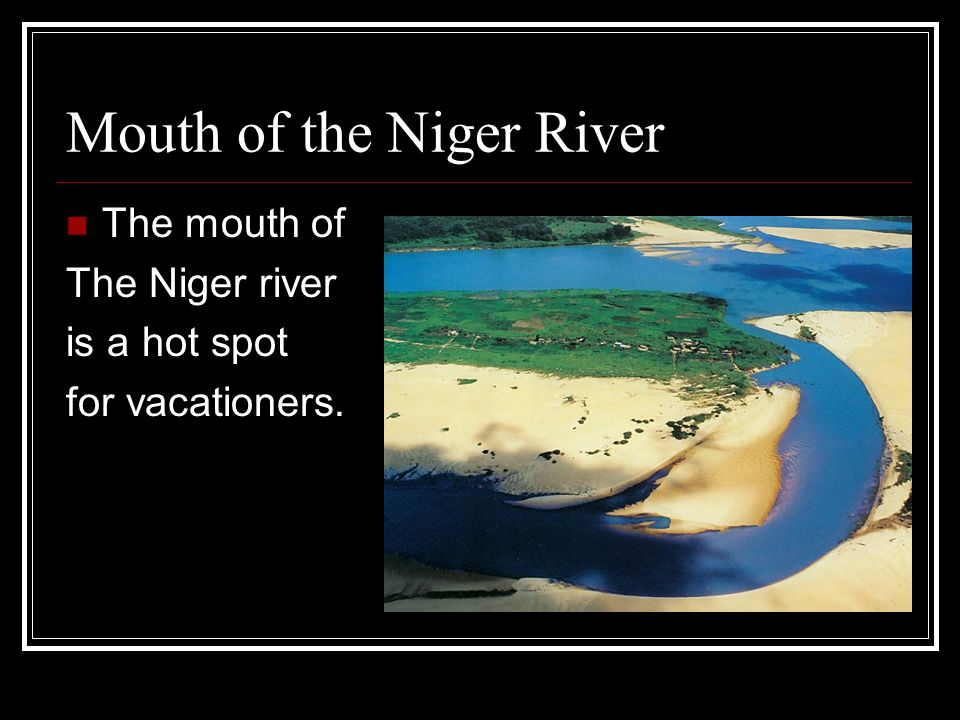 niger river mouth