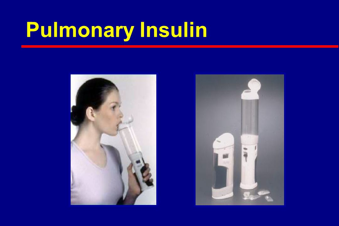 Pulmonary Insulin