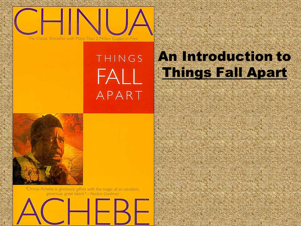 an analysis of a protagonist in chinua achebes things fall apart Things fall apart, published in 1958, is nigerian novelist chinua achebe's first novel simultaneously portraying the traditions and beliefs of nigerian ibo culture and engaging with the narrative of european colonialism in africa, things fall apart uses one man's story to speak for many.