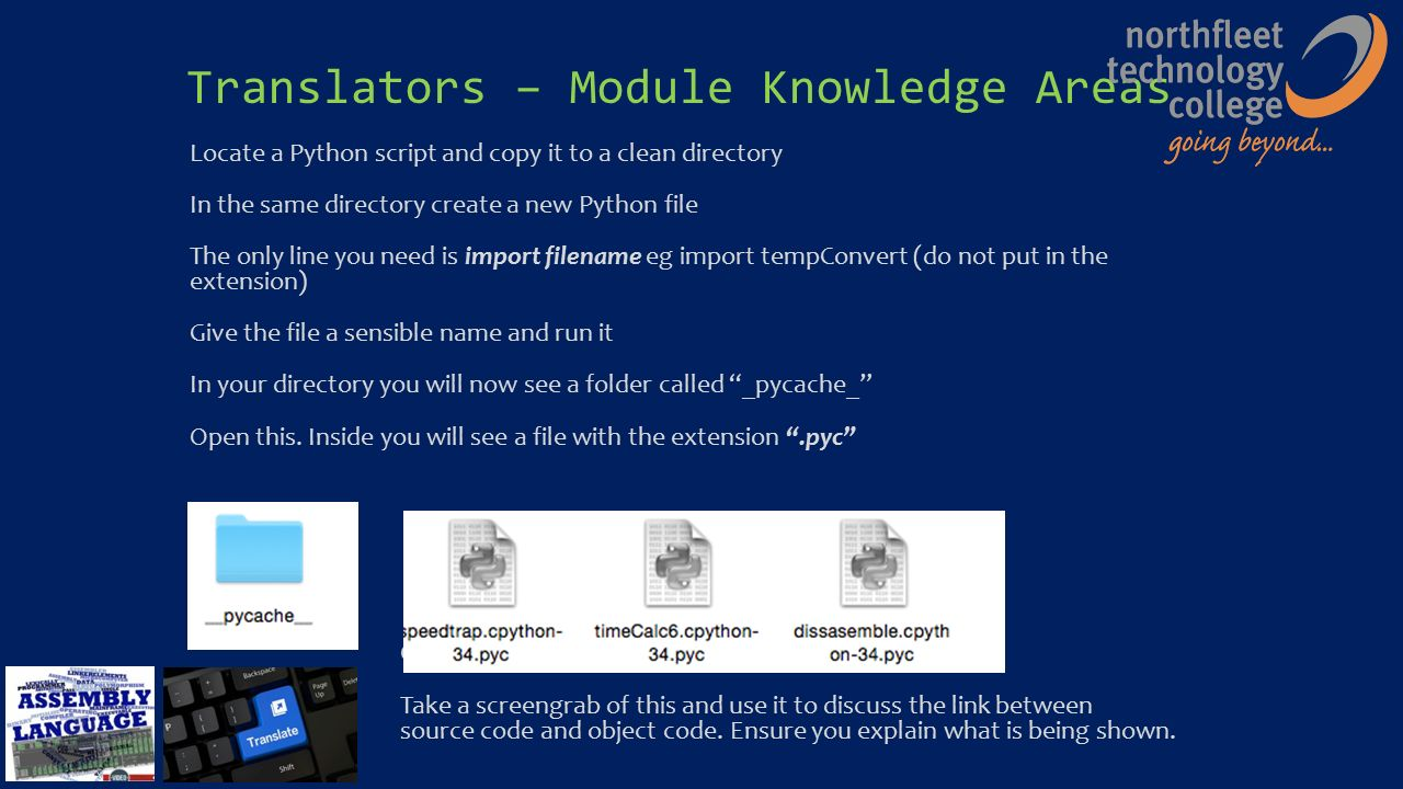 What Do I Represent?  Translators – Module Knowledge Areas