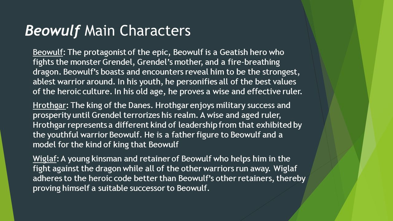 compare and contrast beowulf and grendel essay