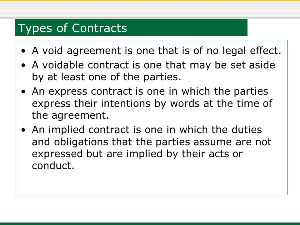Week 04 Agreements And Contracts Contracts A Contract Is A Legally